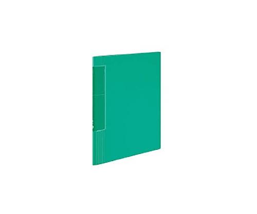 クリヤーブック<ノビータ>ウェーブカット A4縦 固定式40枚ポケット 緑 ラ-TN570G