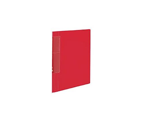 クリヤーブック<ノビータ>ウェーブカット A4縦 固定式40枚ポケット 赤 ラ-TN570R