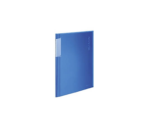 クリヤーブック<ノビータ> A4縦 固定式20枚ポケット 青 ラ-N20B