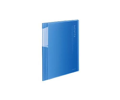 ポケットブック<ノビータ> B5縦 固定式20枚ポケット 青 ラ-N21B