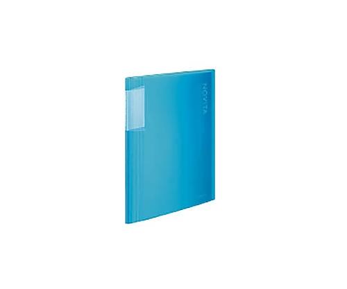 クリヤーブック<ノビータ> A4縦 固定式40枚ポケット ライトブルー ラ-N40LB
