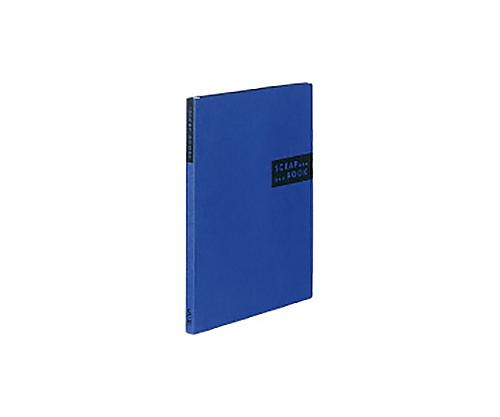 スクラップブックS(スパイラルとじ) A4縦 青 ラ-410B