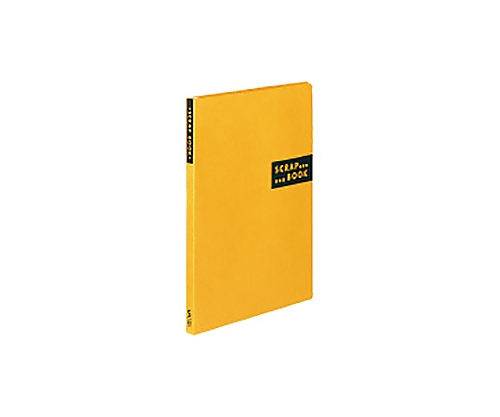スクラップブックS(スパイラルとじ) A4縦 黄 ラ-410Y
