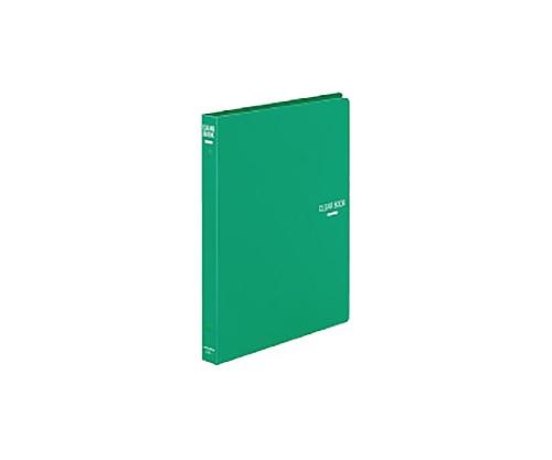 クリヤーブック B5縦 替紙式18枚ポケット26穴 緑 ラ-321G