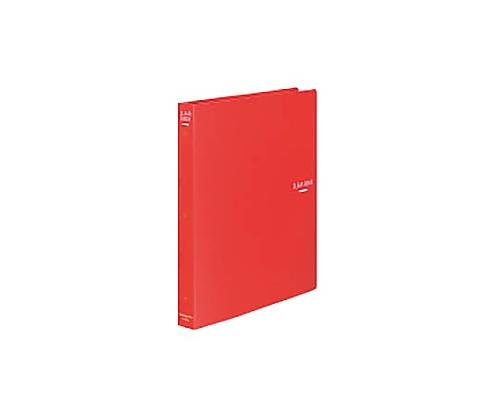 クリヤーブック A4縦 替紙式23枚ポケット30穴 赤 ラ-460R