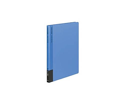 クリヤーブック A4縦 替紙式12枚ポケット30穴 青 ラ-710B