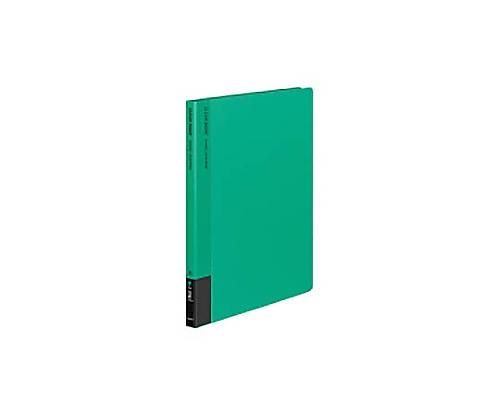 クリヤーブック A4縦 替紙式12枚ポケット30穴 緑 ラ-710G