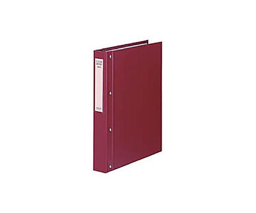 クリヤーブック(大量とじタイプ) A4縦 替紙式40枚ポケット30穴 赤 ラ-E100R