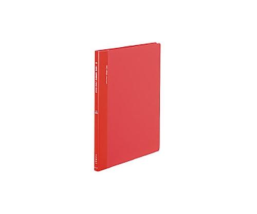 クリヤーブック(サイドスロータイプ) A4縦 固定式20枚ポケット 赤 ラ-820R