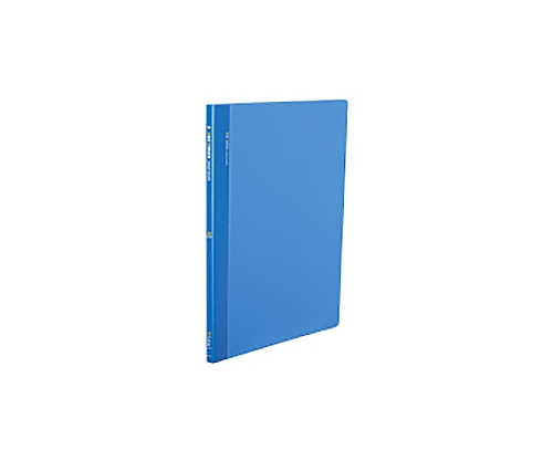クリヤーブック(サイドスロータイプ) B4縦 固定式20枚ポケット 青 ラ-824B