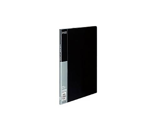 クリヤーブック A4縦 固定式10枚ポケット 黒 ラ-B10D