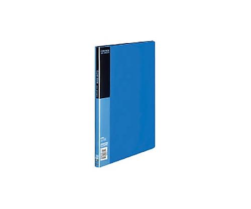 クリヤーブック A4縦 固定式20枚ポケット 青 ラ-B20B