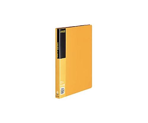 クリヤーブック A4縦 固定式40枚ポケット 黄 ラ-B40Y