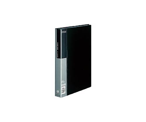 クリヤーブック A4縦 固定式60枚ポケット 黒 ラ-B60D