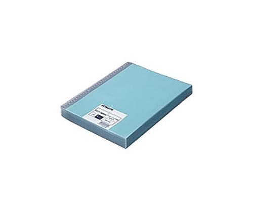 [取扱停止]クリヤーブック替紙(100枚パック) A4縦 30穴 台紙色青 VDラ-8880B