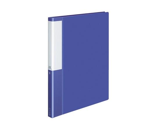 クリヤーブック(替紙式)<POSITY> A4縦 ブルー P3ラ-L720NB