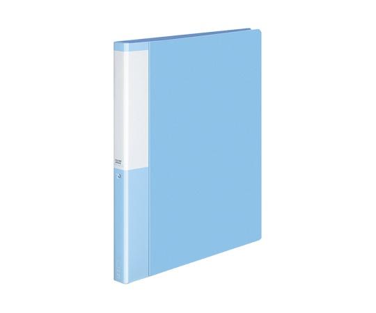 クリヤーブック(替紙式)<POSITY> A4縦 ライトブルー P3ラ-L720NLB