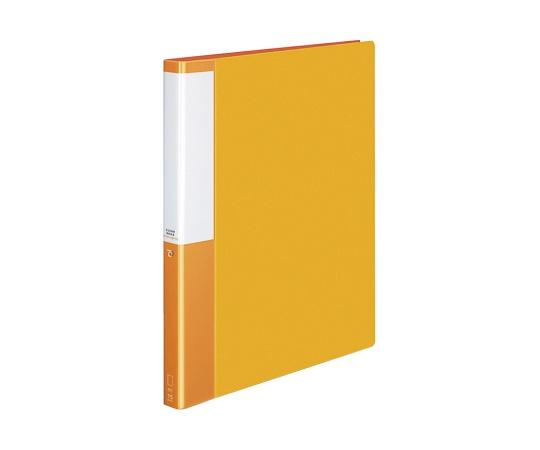 クリヤーブック(替紙式)<POSITY> A4縦 オレンジ P3ラ-L720NYR