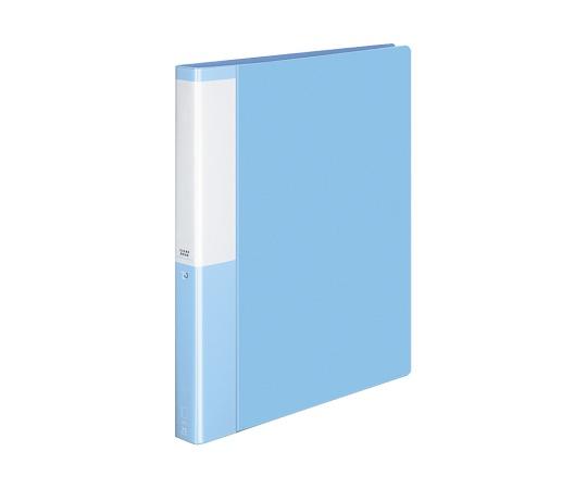 クリヤーブック(替紙式)<POSITY> A4縦 ライトブルー P3ラ-L730NLB