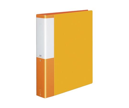 クリヤーブック(替紙式)<POSITY> A4縦 オレンジ P3ラ-L740NYR