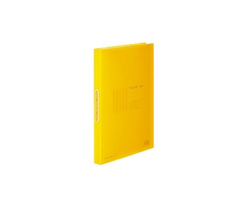 クリヤーブック<カラータグ>40枚 A4縦 黄 CTラ-40Y