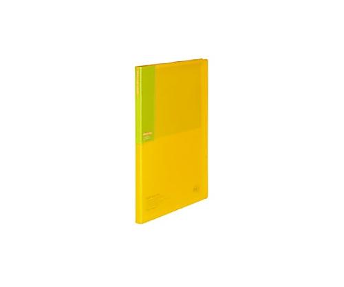 [取扱停止]クリヤーブックC<カラータグ>20枚 A4縦 黄 CTラ-C20Y
