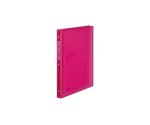 クリヤーブック<カラータグ>替紙式 A4縦 ピンク CTラ-720P