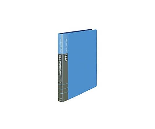 名刺ホルダー(替紙式) A4縦 300名収容 30穴 青 メイ-335NB