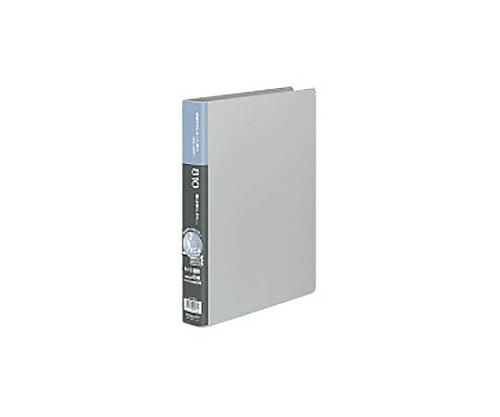[取扱停止]名刺ホルダー(替紙式) 2穴 縦入れ810ポケット シルバー メイ-E80C