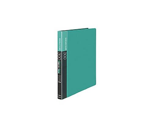 名刺ホルダー(替紙式)300名 名刺ホルダー替紙式A4縦 30穴横入緑 メイ-F335NG