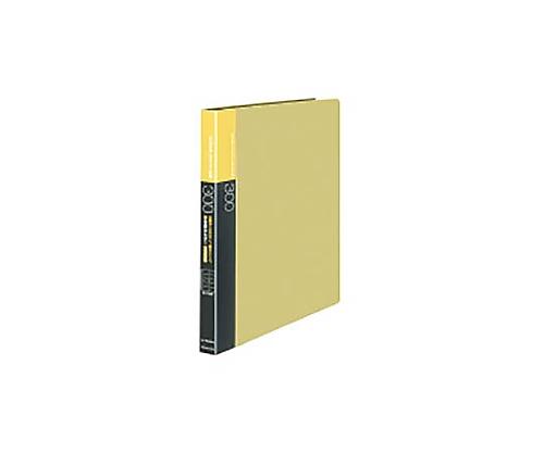 名刺ホルダー(替紙式)300名 名刺ホルダー替紙式A4縦 30穴横入黄 メイ-F335NY