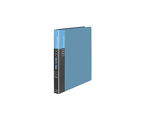 名刺ホルダー(替紙式)500名 名刺ホルダー替紙式A4縦 30穴横入青 メイ-F355NB