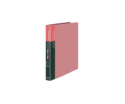 名刺ホルダー(替紙式)500名 名刺ホルダー替紙式A4縦30穴横入ピンク メイ-F355NP