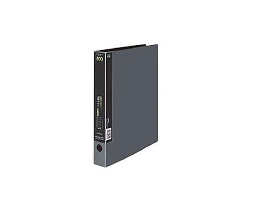 名刺ホルダー(替紙式) 800名収容 A4縦 40枚 2穴 ダークグレー メイ-H80NDM