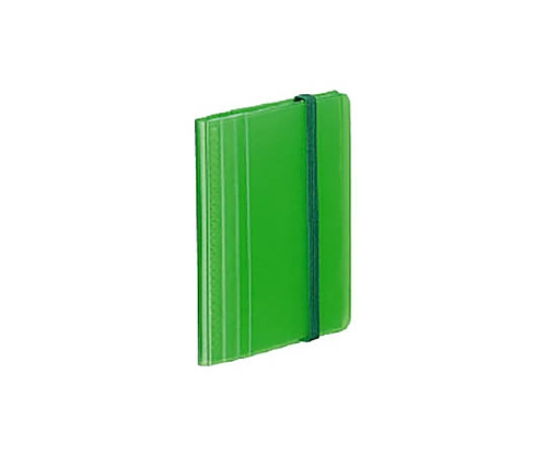 カードホルダー<ノビータ> 固定式 60名収容 ライトグリーン メイ-N1212LG
