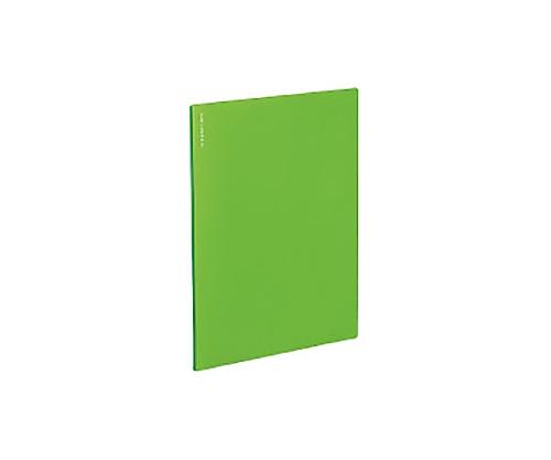 名刺ファイルα<ノビータα> A4S ライトグリーン 200名収容 メイ-NF10LG