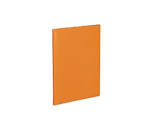 名刺ファイルα<ノビータα> A4S オレンジ 200名収容 メイ-NF10YR