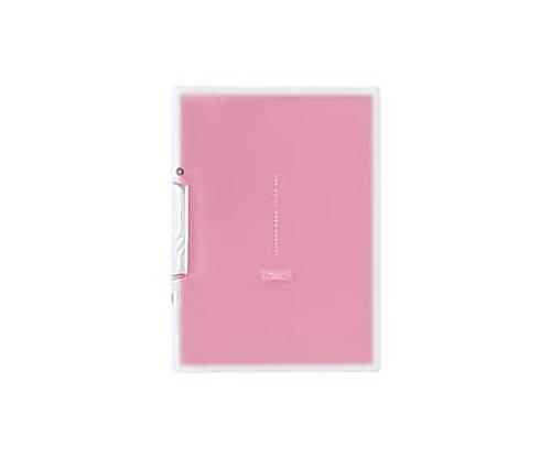 [取扱停止]イージークリップファイル<コロレー> PP A4縦20枚収容ピンク F-VFH100P