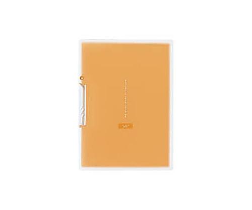 [取扱停止]イージークリップファイル<コロレー> PP A4縦20枚収容オレンジ F-VFH100YR