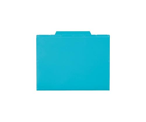 6インデックスフォルダー A4 ブルー 7ポケット ACT-906-10