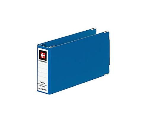 データバインダーT T4XY8 8穴 28ミリとじ 約280枚収容 青 EBT-0808