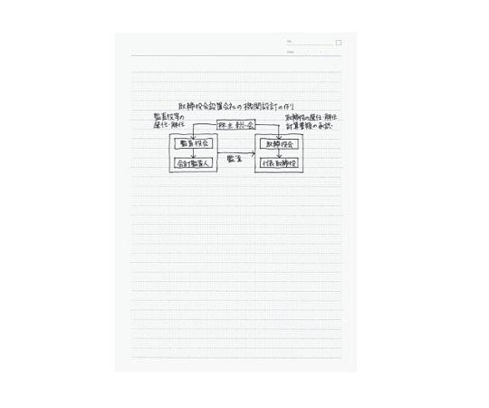 学習罫キャンパス<図表> (図表が描きやすい)セミB5 ピンク ノ-F3AK-P