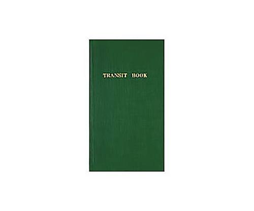 測量野帳(レベルブック)