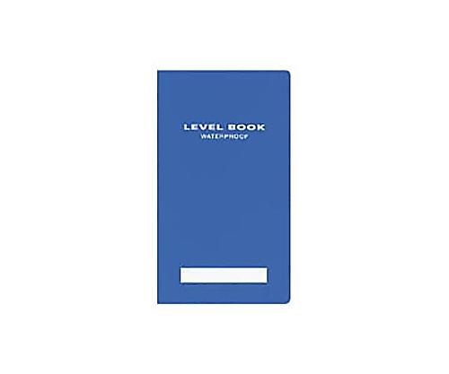 測量野帳<ブライトカラー> (耐水・PP表紙) レベル 30枚 青