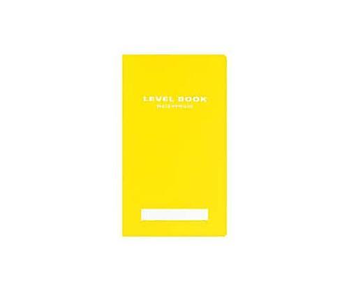 測量野帳<ブライトカラー> (耐水・PP表紙) レベル 30枚 黄
