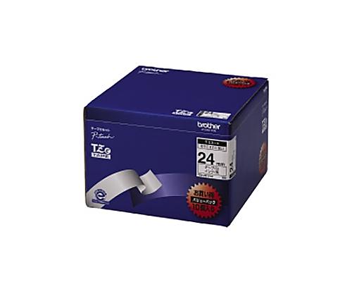 ピータッチ用TZeテープカセット 白に黒文字24ミリ幅 10本パック TZE-251V10