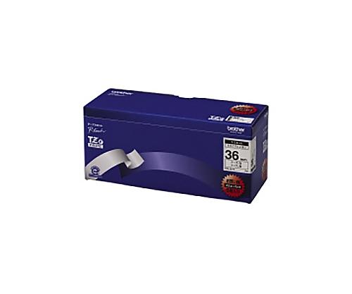 ピータッチ用TZeテープカセット 白に黒文字36ミリ幅 5本パック TZE-261V