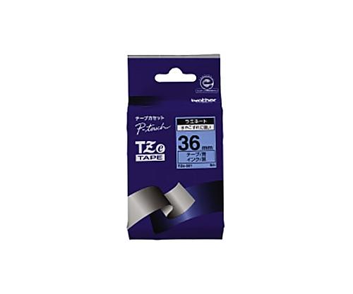 ピータッチ用TZeテープカセット 青に黒文字36ミリ幅 TZE-561