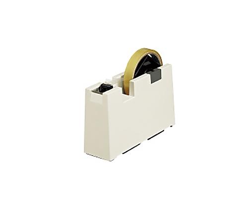 端が折れるテープカッター<つまんではる> 外寸法 W55×D180×H110