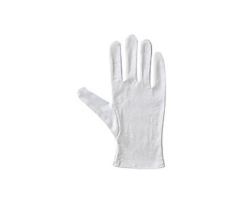 [取扱停止]純綿スムス手袋(マチ無し) L 12双 36-L